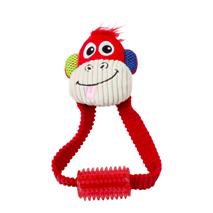 Pawise plišasta opica z grizalom - 23 cm