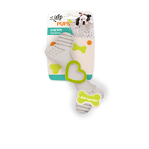 All For Paws dental kost, zelena - 12 cm