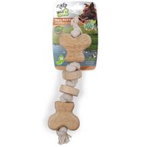 All For Paws igrača kost, vrv in les - 28 cm