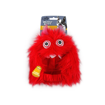 All For Paws igrača pliš klobuk Monster, rdeč - 24 cm