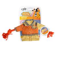 All For Paws igrača jakna z vrvjo - 15 cm