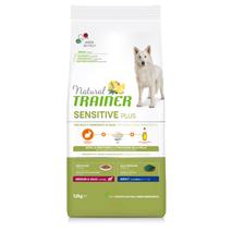 Natural Trainer Sensitive Plus Adult Medium/Maxi - kunec in riž