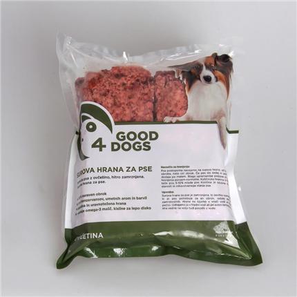 Good4Dogs ovčetina - 1 kg (8x125g)