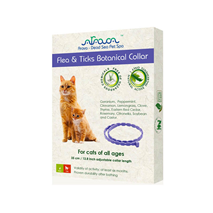 Arava Botanical ovratnica z eteričnim oljem za mačke