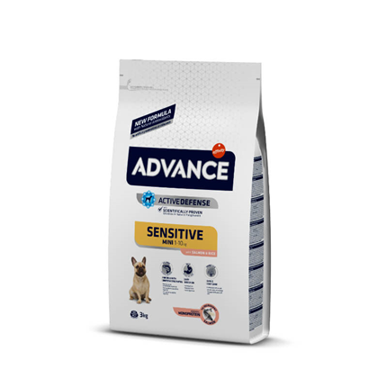 Advance Adult Mini Sensitive - losos - 1,5 kg