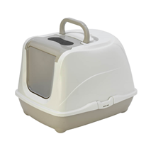 Moderna pokriti WC Flip Cat Jumbo, siv - 57 cm