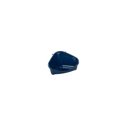 Moderna kotni WC za glodavce S, moder - 12 cm