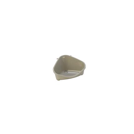 Moderna kotni WC za glodavce S, siv - 12 cm