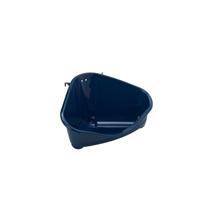 Moderna kotni WC za glodavce M, moder - 24 cm