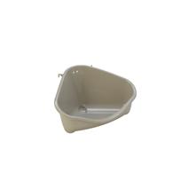 Moderna kotni WC za glodavce M, siv - 24 cm