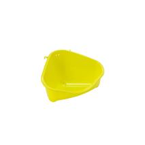 Moderna kotni WC za glodavce M, neon rumen - 24 cm