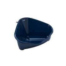 Moderna kotni WC za glodavce L, moder - 33 cm