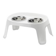 Moderna stojalo s posodama Skybar S, belo - 2 x 950 ml