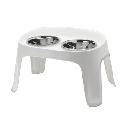 Moderna stojalo s posodama Skybar M, belo - 2 x 1950 ml