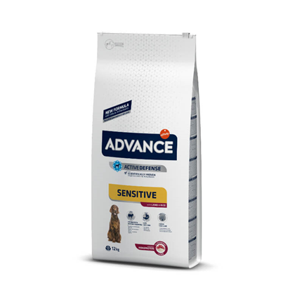 Advance Adult Sensitive - ovca in riž