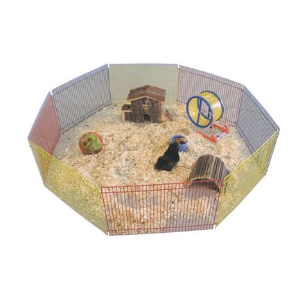 Nobby kovinska ograja za glodalce - 34 x 23 cm (8 elementov)
