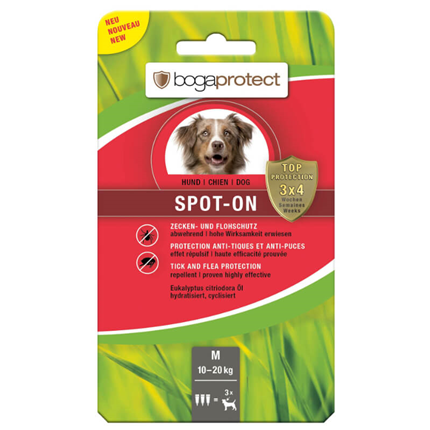 Bogaprotect Spot-On pipeta - M (10-20 kg)