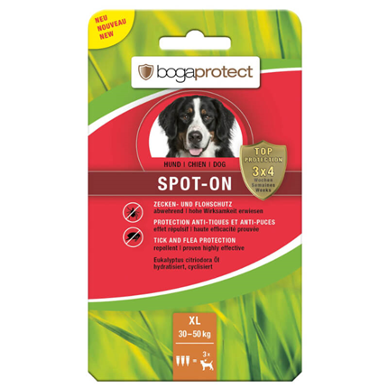 Bogaprotect Spot-On pipeta - XL (30-50 kg)