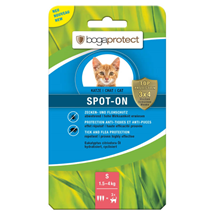 Bogaprotect Spot-On pipeta za mačke - S (1,5-4 kg)