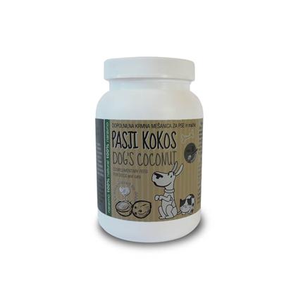 Pasji kokos s konopljinimi semeni - 400 g