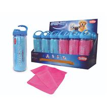Nobby vpojna krpa Speed Dry Comfort, modra/roza- 66 × 43 cm