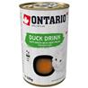 Ontario Cat pijača s koščki race 135 g