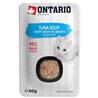 Ontario Cat juha - tuna in zelenjava 40 g