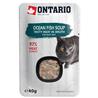 Ontario Cat juha - morska riba in zelenjava 40 g