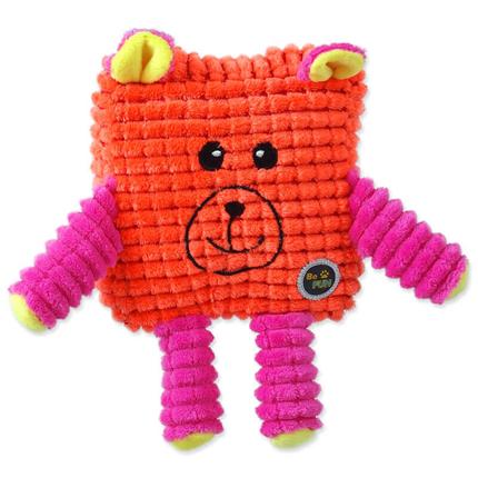 BeFun plišasta igrača Calypso kvadratnik, oranžen - 12,5 cm