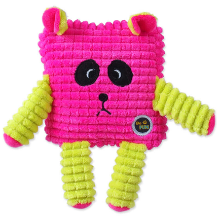 BeFun plišasta igrača Calypso kvadratnik, roza - 12,5 cm