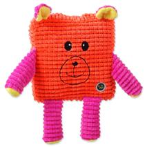 BeFun plišasta igrača Calypso kvadratnik, oranžen - 17,5 cm