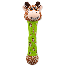 BeFun igrača pliš+TPR žirafa - 17 cm
