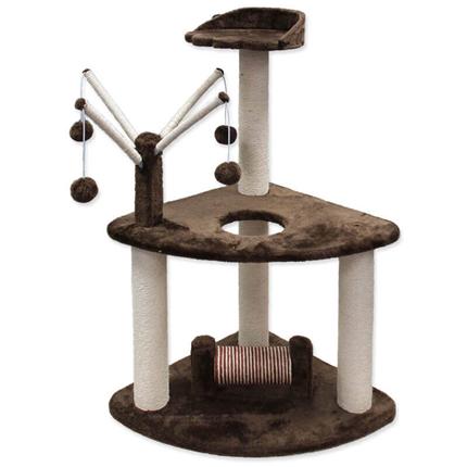 Magic Cat praskalnik Adriana, rjav - 50 x 50 x 93 cm