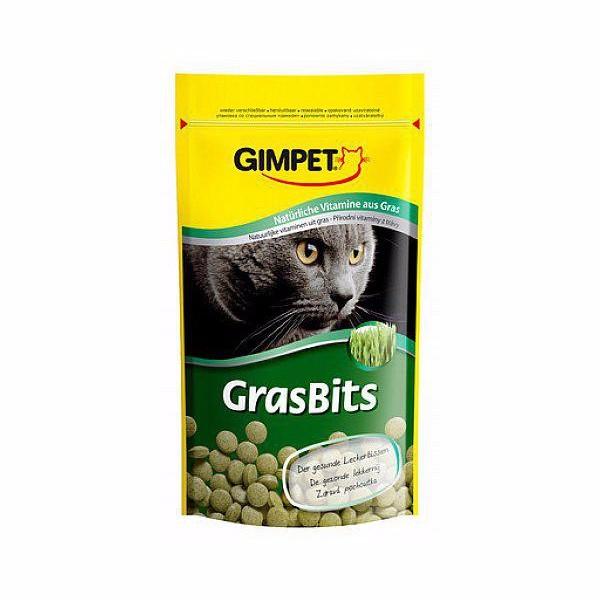 GimCat priboljški z mačjo travo Gras Bits - 50 g