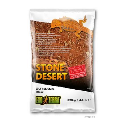 Exo Terra pesek Outback Red Stone Desert - 10 kg
