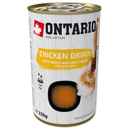 Ontario Cat pijača s koščki piščanca