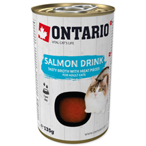 Ontario Cat pijača s koščki lososa