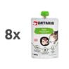 Ontario Cat pasta z raco 8 x 90 g