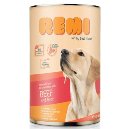 Remi Dog koščki v omaki - govedina in jetra