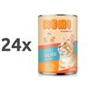 Remi Cat koščki v omaki - losos in postrv 24 x 415 g