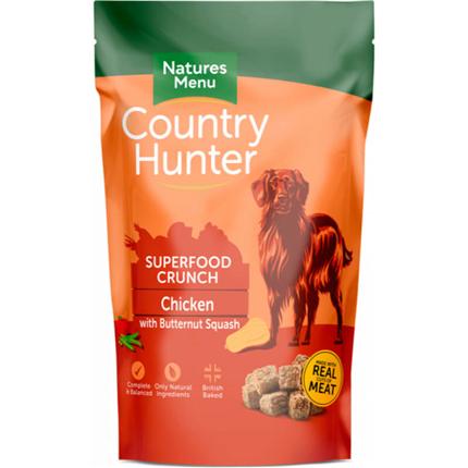 Natures Menu Country Hunter Superfood Crunch - pščanec in maslena buča - 1,2 kg