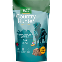 Natures Menu Country Hunter Superfood Crunch - raca in sliva - 1,2 kg