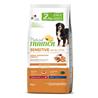 Natural Trainer Sensitive No Gluten Adult Medium/Maxi - losos 10 + 2 kg GRATIS