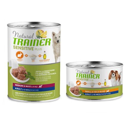 Natural Trainer Sensitive Plus Adult - kunec in riž