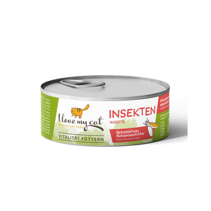 I love my cat mokra hrana z insekti