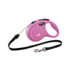 Flexi povodec New Classic S, vrvica - 8 m (različne barve) roza