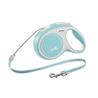 Flexi povodec New Comfort M, vrvica - 8 m (različne barve) svetlo modra