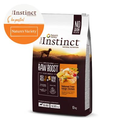 True Instinct Raw Boost Adult Medium - piščanec iz proste reje