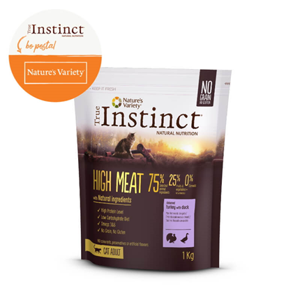True Instinct Hight Meat Adult - puran