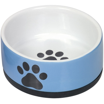 Nobby keramična posoda Paw, modra - 400 ml